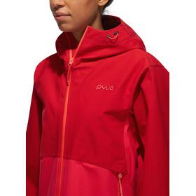 PYUA Float 2.0 S Softshell Jacket Women jester/barberry pink